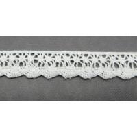 Рукоделие KL-1004/1 Кружевная лента Белая
