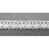 Рукоделие KL-1005/1 Кружевная лента Белая