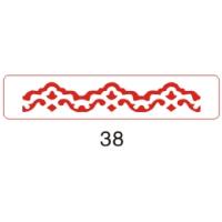 Рукоделие Узор №038 Компостер края фигурный (Узор №038)
