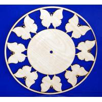 ПКФ Созвездие 045814 Циферблат с бабочками