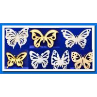 ПКФ Созвездие 045860 Набор бабочек (7 шт/упак)