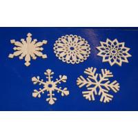 ПКФ Созвездие 045912 Набор снежинок, 5 шт