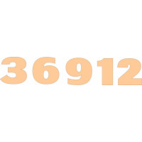 ПКФ Созвездие 045951 Набор цифр для часов