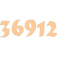 ПКФ Созвездие 045953 Набор цифр для часов