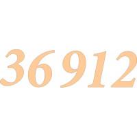 ПКФ Созвездие 045954 Набор цифр для часов