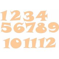 ПКФ Созвездие 045956 Набор цифр для часов