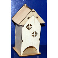 ПКФ Созвездие 046123 Чайный домик С двумя окошками (мини)