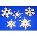 ПКФ Созвездие 046381 Набор снежинок, 5 шт