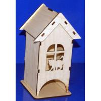 ПКФ Созвездие 046428 Чайный домик Кошка на окошке