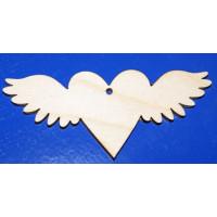 ПКФ Созвездие 046689 Бирочка Сердечко с крыльями