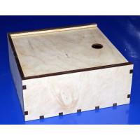 ПКФ Созвездие 046692 Коробочка-пенал для чайных пакетиков, 2 секции