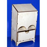 ПКФ Созвездие 046762 Чайный домик с ящиком (2 отдела)