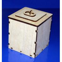 ПКФ Созвездие 046794 Коробка квадратная средняя