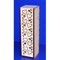 ПКФ Созвездие 047250 Коробка для вина с сердечками
