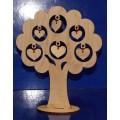 ПКФ Созвездие 047260 Дерево с сердечками на подставке