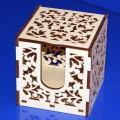 ПКФ Созвездие 047530 Блок для бумаг с крышкой, резной