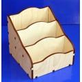 ПКФ Созвездие 047657 Подставка для бумаг, 3 секции