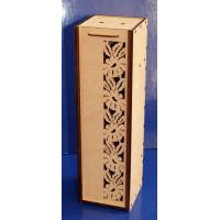 ПКФ Созвездие 047713 Коробка для вина с ромашками