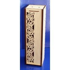 Коробка для вина с розами (арт. 047714)