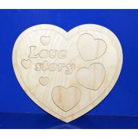 ПКФ Созвездие 049991 Фоторамка Love story