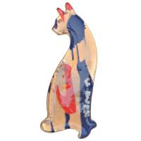 Прочие 318024 Брошь Кошка 2*5см