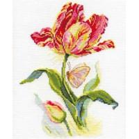 Алиса 2-14 Тюльпан и бабочка