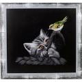 Alisena 1126 Котёнок и птичка