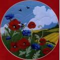 Anchor AL77521                   Poppies & Cornflowers (Маки и васильки)