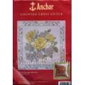 Anchor CC85521 Yellow Rose Cushion Front (Желтые розы)
