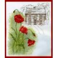 Anchor CC90605 Poppy Cottage (Маки у дома)