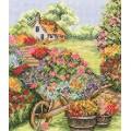 Anchor PCE749 Floral Wheelbarrow (Тачка с цветами)