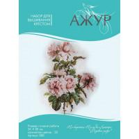 Ажур 0007 Розовые розы