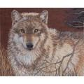 Bucilla 45477 Gray Wolf (Серый волк)