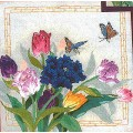 Candamar 30933 Tulips and butterflies (Тюльпаны и бабочки)