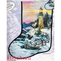 Candamar 51213 Cristmas Cove Stocking (Рождествеский сапожок)