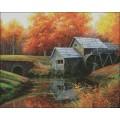 Candamar 52405 The Old Mill in October (Старая мельница в октябре)