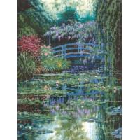 Candamar 30929 Monet's Japanese Bridge (Японский мостик Моне)