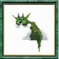 Чаривна Мить 118                       Зелёный кот