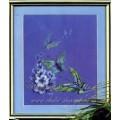 Чаривна Мить 197 Бабочки на синем