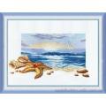 Чаривна Мить 210 Триптих У моря -центральная часть (Морской рассвет)