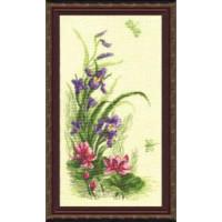 Чаривна Мить 232 Триптих Полевые цветы