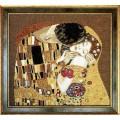 Чаривна Мить 411 По мотивам Г. Климта Поцелуй (фрагмент)