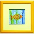 Чаривна Мить А-058 Рыбка жёлтая