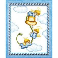 Набор для вышивания А-070 Ангелочки