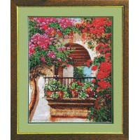 Чаривна Мить Б-563 Цветы на балконе