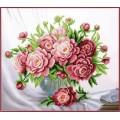 Чаривна Мить Б-751 Розовые пионы