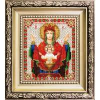 Чаривна Мить БЮ-010 Икона Божьей Матери Неупиваемая чаша