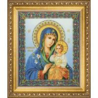Чаривна Мить КС-056 Икона Божьей Матери Неувядаемый цвет