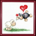 Чаривна Мить М-73 Влюбленная овечка