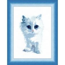 Набор для вышивания М-92 Белый кот